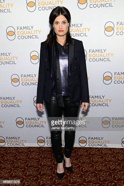 Actress Idina Menzel attends the Family Equality Council's 2014 Night at the Pier at Pier 60 on May 12 2014 in New York City