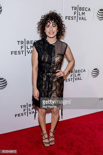 Actress Ilana Glazer attends 'Broad City' Screening during the 2016 Tribeca Film Festival at Festival Hub on April 17 2016 in New York City