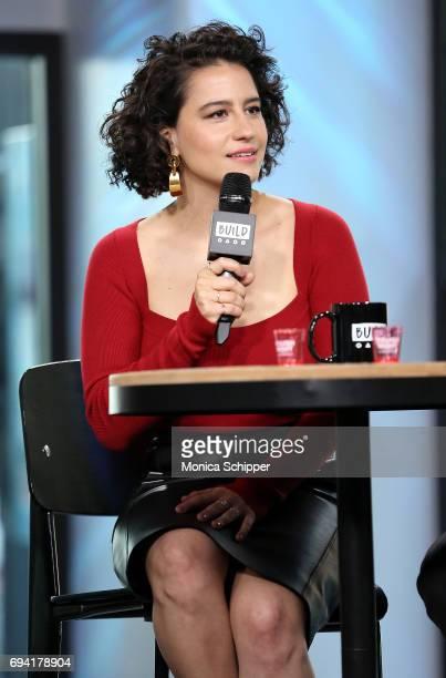 Actress Ilana Glazer discusses 'Rough Night' at Build Studio on June 9 2017 in New York City
