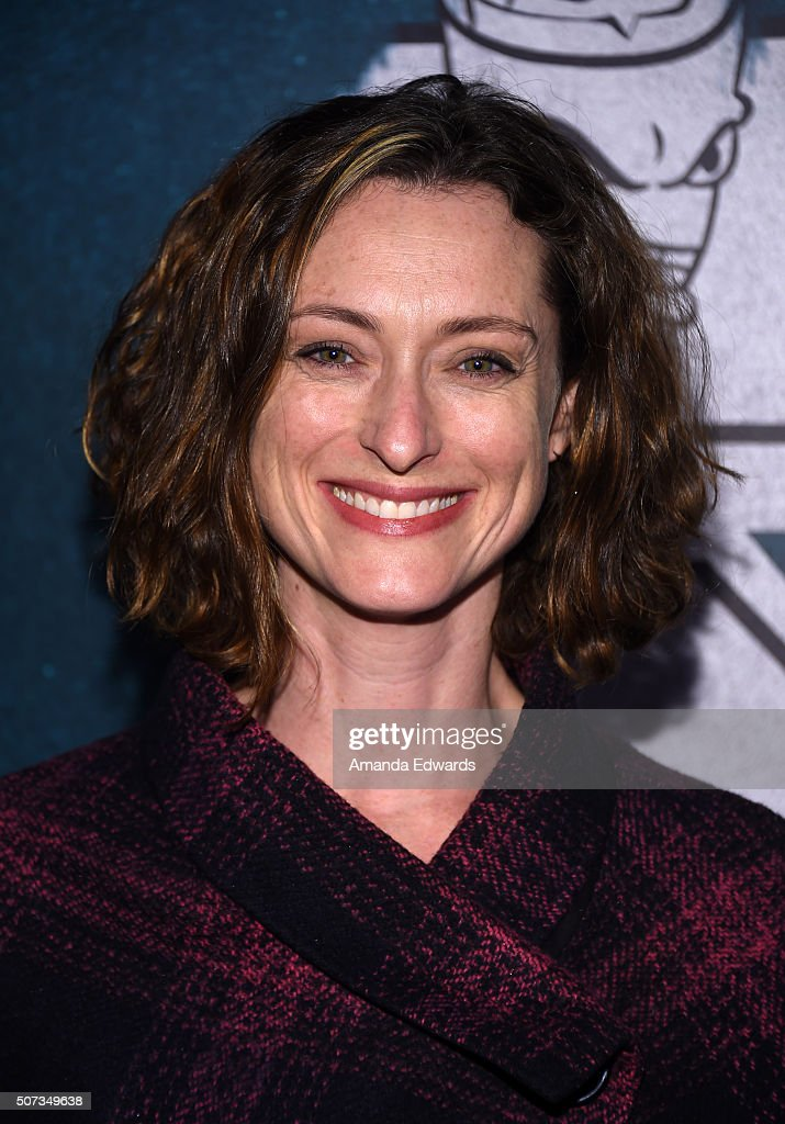 Actress Ilana Turner arrives at the premiere of truTV's 'Those Who Can't' at The Wilshire Ebell Theatre on January 28, 2016 in Los Angeles, California.