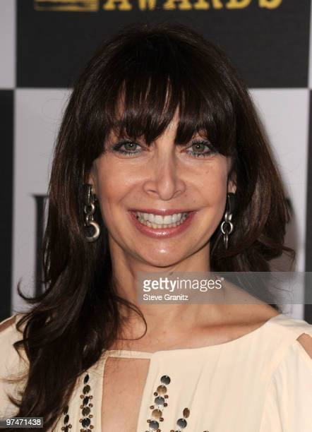 Actress Illeana Douglas arrives at the 25th Film Independent Spirit Awards held at Nokia Theatre LA Live on March 5 2010 in Los Angeles California