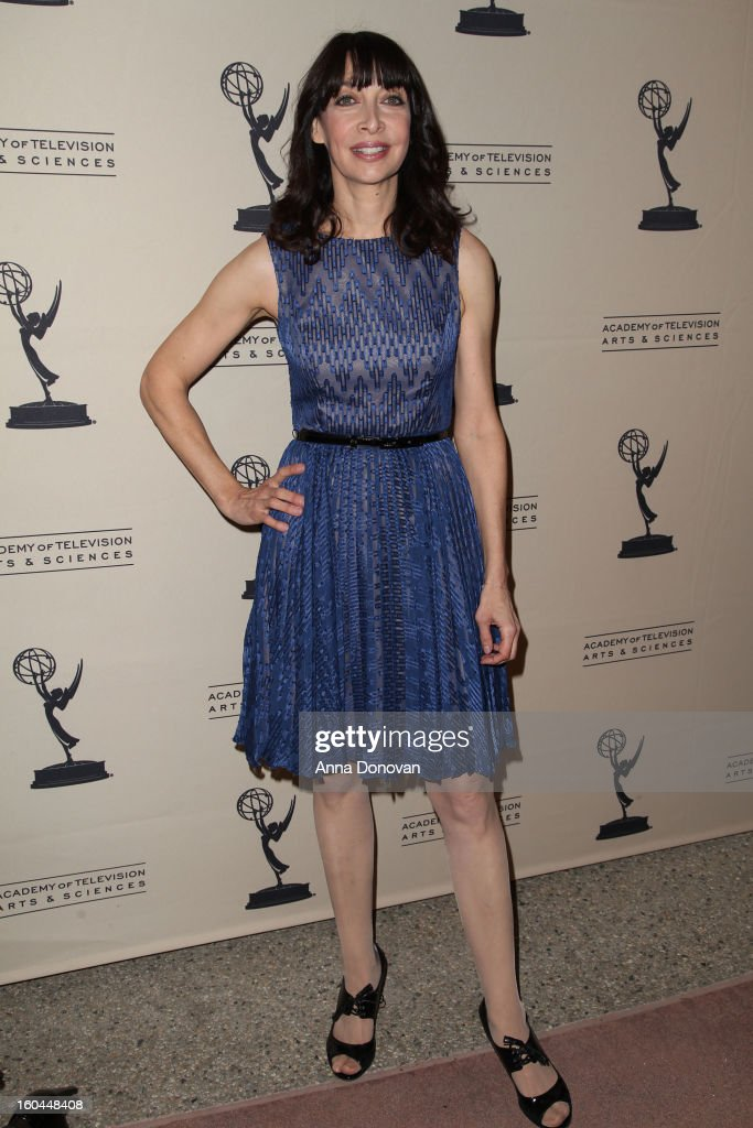 Actress Illeana Douglas attends 'Retire From Showbiz:? No Thanks!' at the Academy of Television Arts & Sciences Conference Centre on January 31, 2013 in North Hollywood, California.