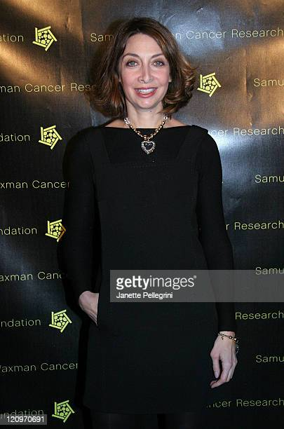 Actress Illeana Douglas attends the 10th Annual Collaborating for a Cure Gala to Benefit the Samuel Waxman Cancer Research Foundation at 69th...