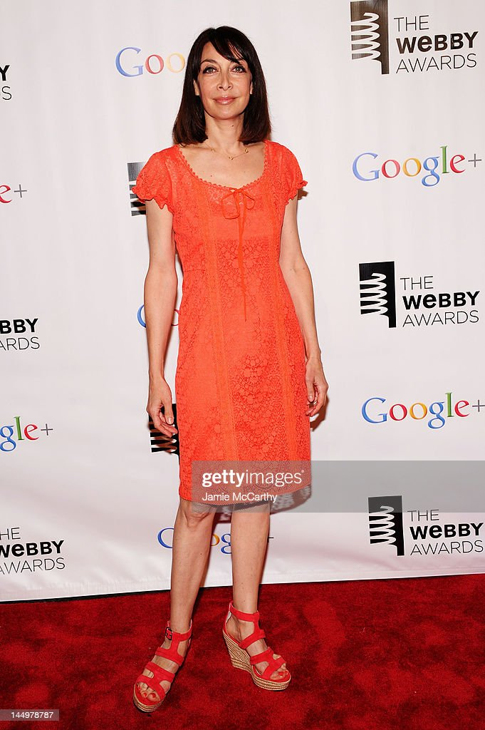 Actress Illeana Douglas attends the 16th Annual Webby Awards on May 21, 2012 in New York City.