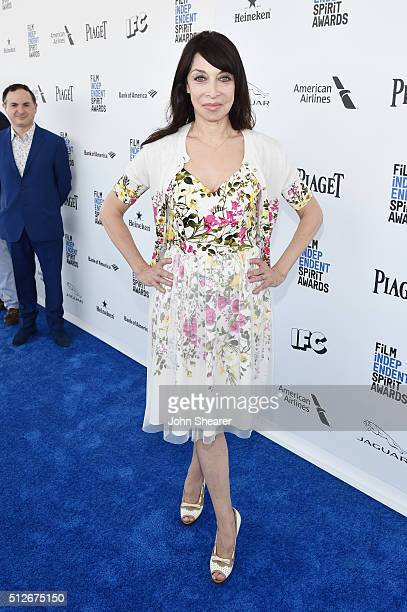 Actress Illeana Douglas attends the 2016 Film Independent Spirit Awards on February 27 2016 in Santa Monica California