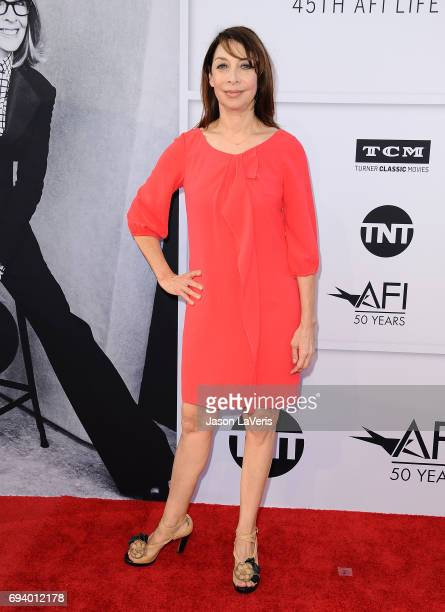 Actress Illeana Douglas attends the AFI Life Achievement Award gala at Dolby Theatre on June 8 2017 in Hollywood California
