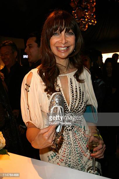 COVERAGE** Actress Illeana Douglas attends the ELLE Green Room at the 25th Film Independent Spirit Awards held at Nokia Theatre LA Live on March 5...