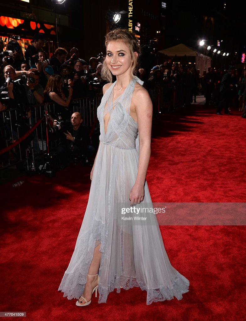 Actress <a gi-track='captionPersonalityLinkClicked' href=/galleries/search?phrase=Imogen+Poots&family=editorial&specificpeople=4265532 ng-click='$event.stopPropagation()'>Imogen Poots</a> arrives at the premiere of DreamWorks Pictures' 'Need For Speed' at TCL Chinese Theatre on March 6, 2014 in Hollywood, California.