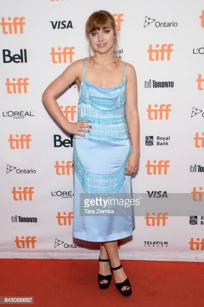 Actress Imogen Poots attends the 'I Kill Giants' premiere during the 2017 Toronto International Film Festival at TIFF Bell Lightbox on September 9...