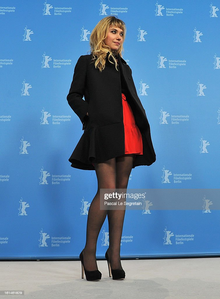 Actress Imogen Poots attends 'The Look Of Love' Photocall during the 63rd Berlinale International Film Festival at Grand Hyatt Hotel on February 10, 2013 in Berlin, Germany.
