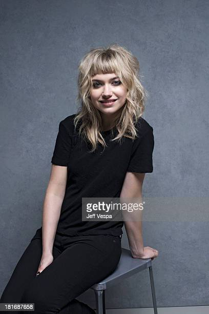 Actress Imogen Poots is photographed at the Toronto Film Festival on September 8 2013 in Toronto Ontario