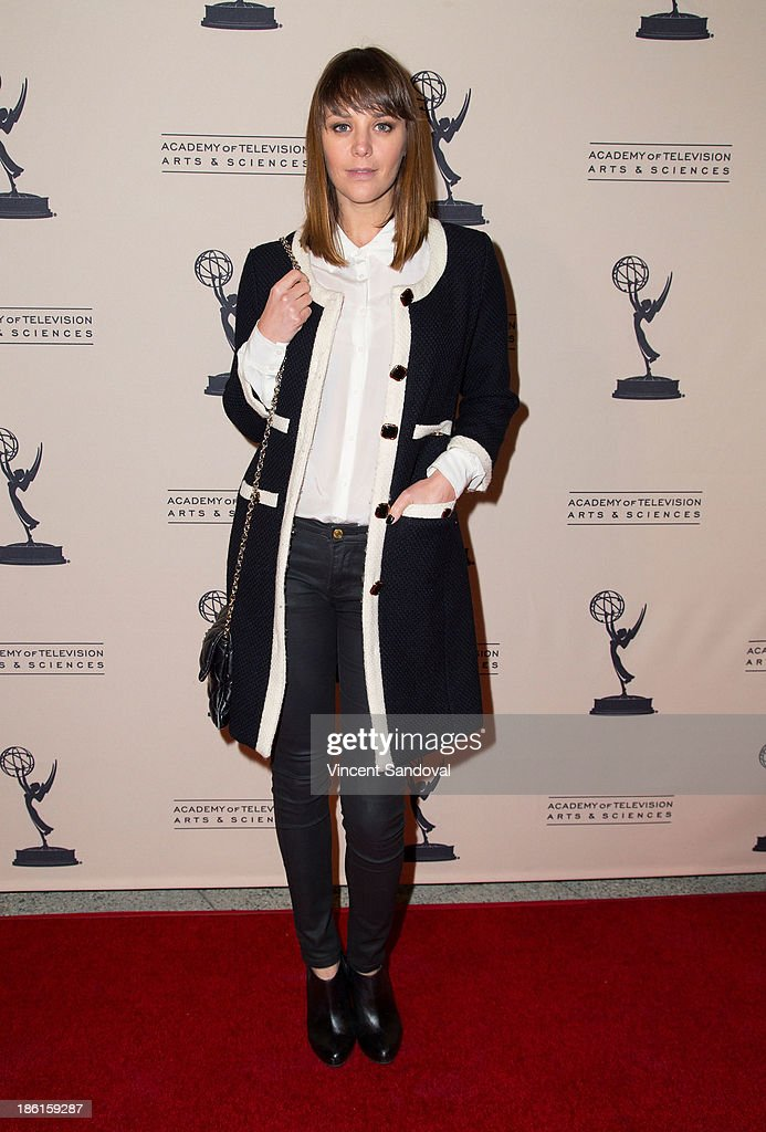 Actress Ina-Alice Kopp attends The Prime Time Closet - A History of Gays and Lesbians on TV at Academy of Television Arts & Sciences on October 28, 2013 in North Hollywood, California.