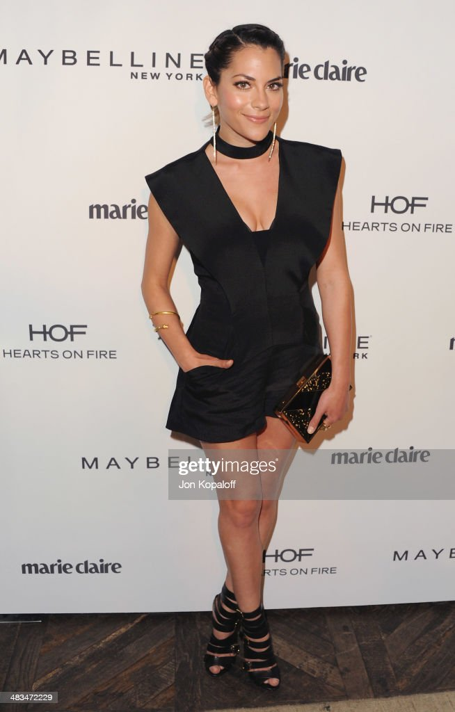 Actress <a gi-track='captionPersonalityLinkClicked' href=/galleries/search?phrase=Inbar+Lavi&family=editorial&specificpeople=7810087 ng-click='$event.stopPropagation()'>Inbar Lavi</a> arrives at Marie Claire's Fresh Faces Party at Soho House on April 8, 2014 in West Hollywood, California.