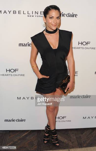 Actress Inbar Lavi arrives at Marie Claire's Fresh Faces Party at Soho House on April 8 2014 in West Hollywood California