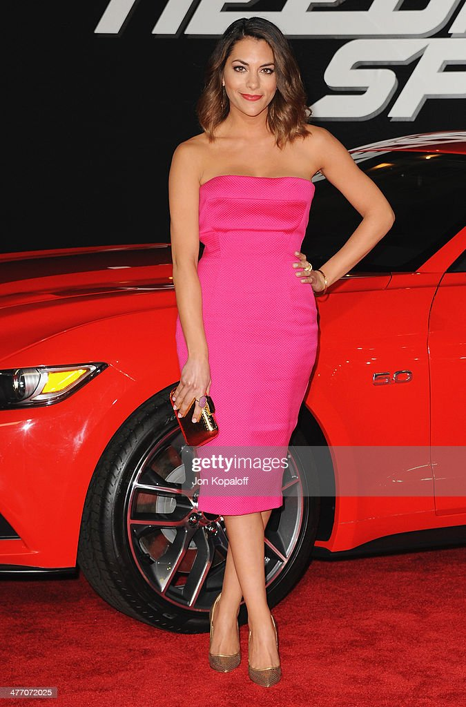 Actress <a gi-track='captionPersonalityLinkClicked' href=/galleries/search?phrase=Inbar+Lavi&family=editorial&specificpeople=7810087 ng-click='$event.stopPropagation()'>Inbar Lavi</a> arrives at the Los Angeles Premiere 'Need For Speed' at TCL Chinese Theatre on March 6, 2014 in Hollywood, California.