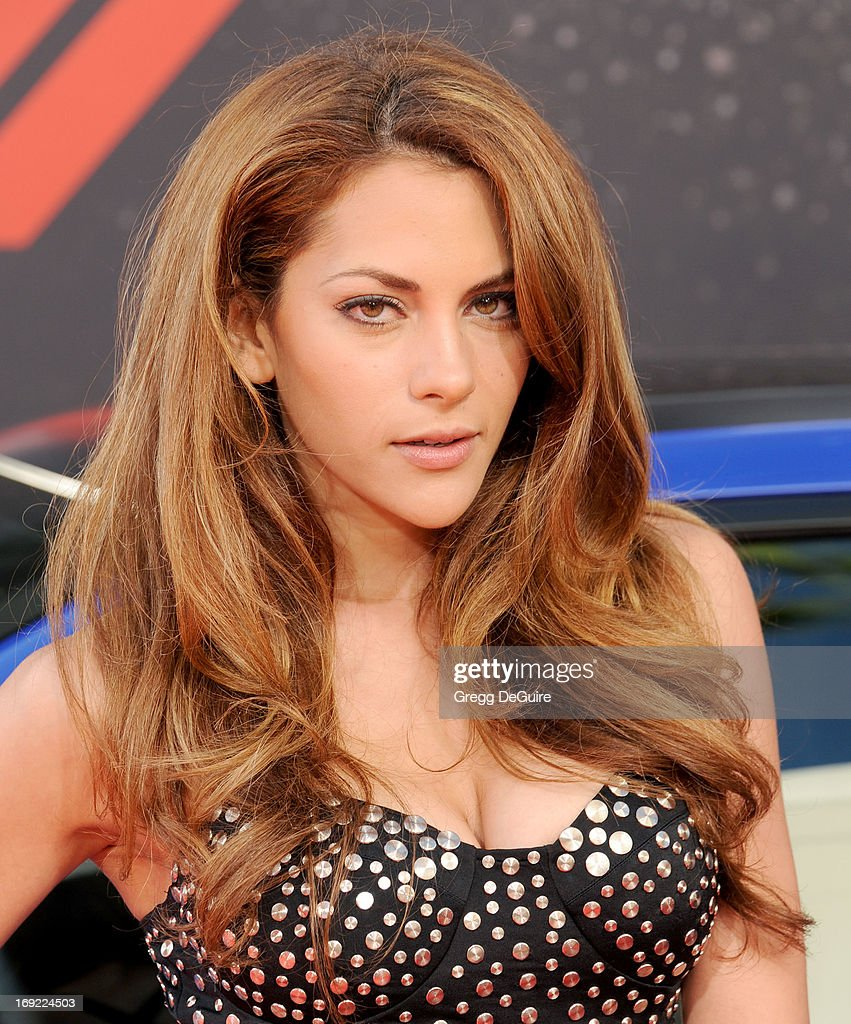 Actress Inbar Lavi arrives at the Los Angeles premiere of 'Fast & The Furious 6' at Gibson Amphitheatre on May 21, 2013 in Universal City, California.
