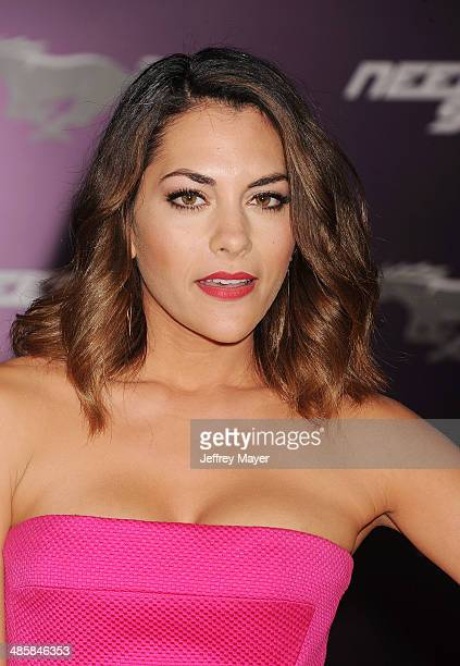 Actress Inbar Lavi arrives at the Los Angeles premiere of 'Need For Speed' at TCL Chinese Theatre on March 6 2014 in Hollywood California