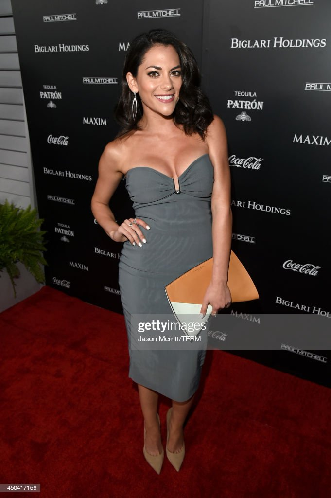 Actress <a gi-track='captionPersonalityLinkClicked' href=/galleries/search?phrase=Inbar+Lavi&family=editorial&specificpeople=7810087 ng-click='$event.stopPropagation()'>Inbar Lavi</a> attends Maxim's Hot 100 Women of 2014 celebration and sneak peek of the future of Maxim at Pacific Design Center on June 10, 2014 in West Hollywood, California.