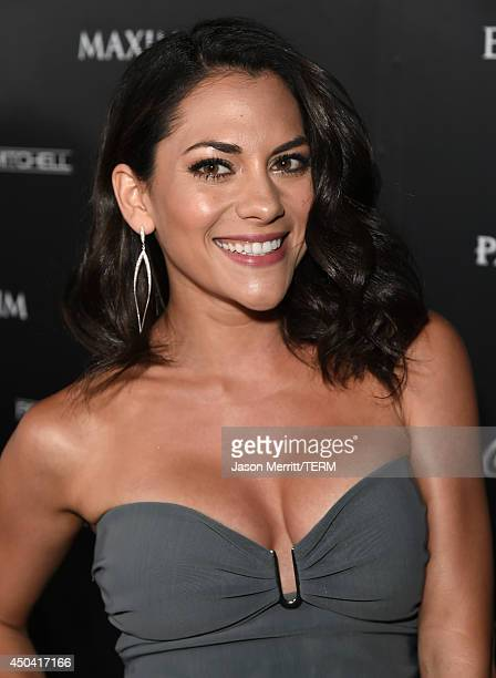 Actress Inbar Lavi attends Maxim's Hot 100 Women of 2014 celebration and sneak peek of the future of Maxim at Pacific Design Center on June 10 2014...