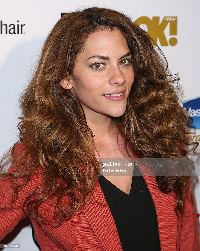 Actress Inbar Lavi attends OK! Magazine's Pre-Oscar party at The Emerson Theatre on February 22, 2013 in Hollywood, California.