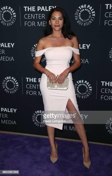 Actress Inbar Lavi attends the 2017 PaleyLive LA Spring Season 'Prison Break' screening and conversation at The Paley Center for Media on March 29...