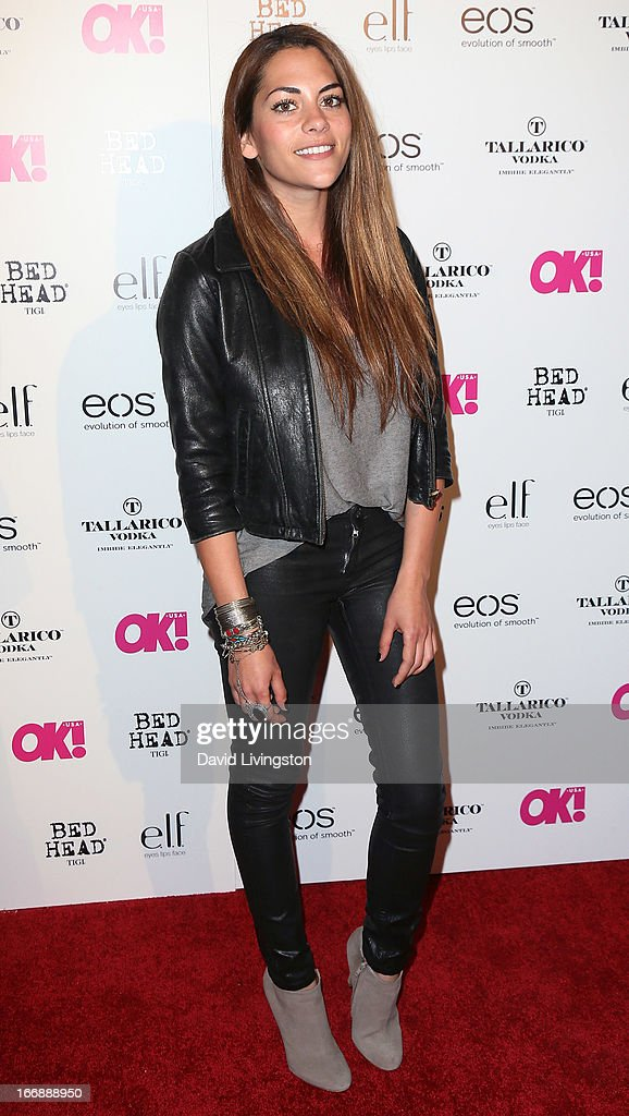 Actress Inbar Lavi attends the OK! Magazine 'So Sexy' LA party at SkyBar at the Mondrian Los Angeles on April 17, 2013 in West Hollywood, California.