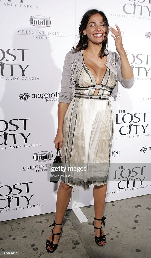 Actress Ines Sastre attends the after party to the premiere of 'The Lost City' April 17, 2006 in Hollywood, California.