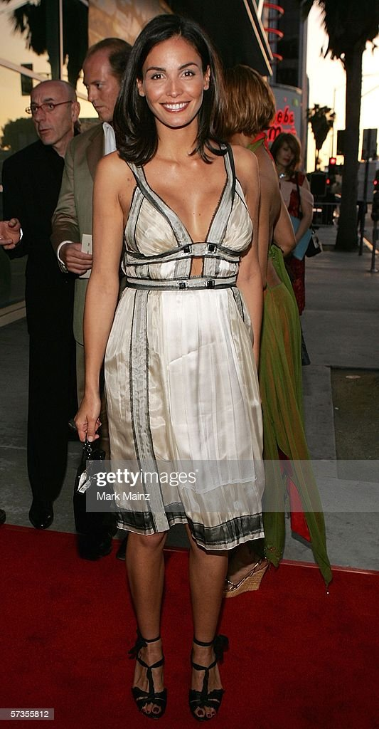 Actress Ines Sastre attends the premiere of 'The Lost City' at the Cinerama Dome April 17, 2006 in Hollywood, California.