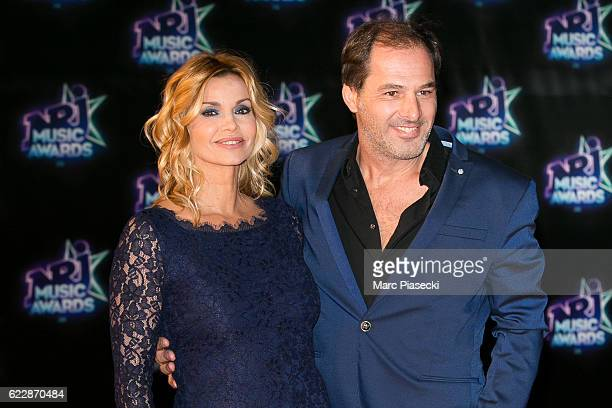 Actress Ingrid Chauvin and her husband Thierry Peythieu attend the 18th NRJ Music Awards at Palais des Festivals on November 12 2016 in Cannes France