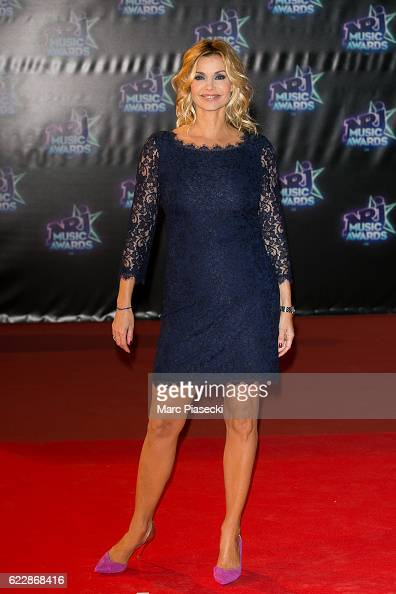 Actress Ingrid Chauvin attends the 18th NRJ Music Awards at Palais des Festivals on November 12 2016 in Cannes France