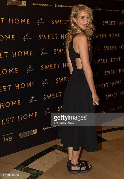 Actress Ingrid Garcia Jonsson attends 'Sweet home' photocall at Palafox cinema on April 29 2015 in Madrid Spain