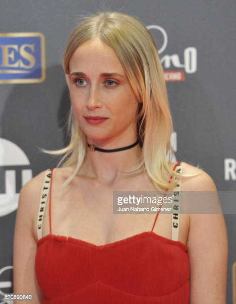 Actress Ingrid Garcia Jonsson attends the 'Platino Awards 2017' photocall at La Caja Magica on July 22 2017 in Madrid Spain
