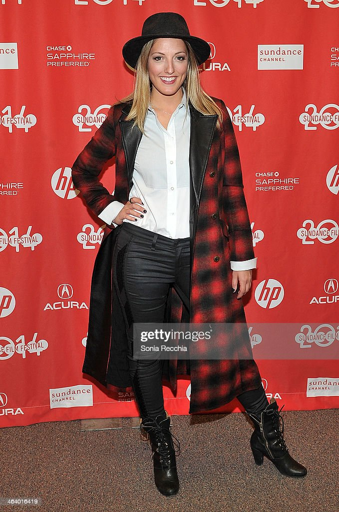 Actress Ingrid Haas attends the 'Dead Snow; Red vs. Dead' premiere at Library Center Theater during the 2014 Sundance Film Festival on January 19, 2014 in Park City, Utah.