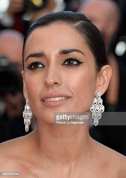 Actress Inma Cuesta attends the screening of 'Julieta' at the annual 69th Cannes Film Festival at Palais des Festivals on May 17 2016 in Cannes France