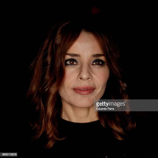 Actress Inma del Moral attends the 'El Pelotari y la Fallera' premiere at Callao cinema on April 5 2017 in Madrid Spain