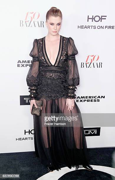 Actress Ireland Baldwin attends Harper's Bazaar Celebrates 150 Most Fashionable Women at Sunset Tower Hotel on January 27 2017 in West Hollywood...