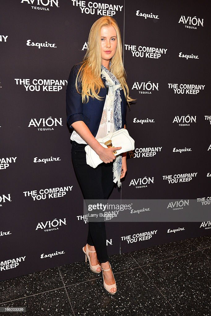 Actress Ireland Baldwin attends 'The Company You Keep' New York Premiere at The Museum of Modern Art on April 1 2013 in New York City
