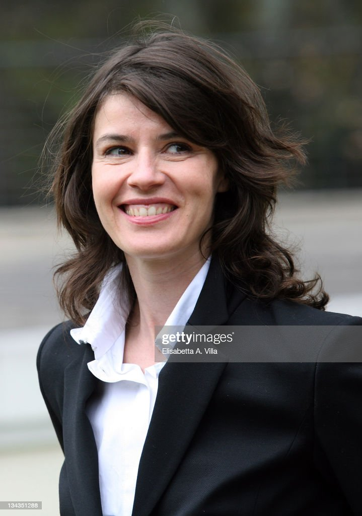 Actress <a gi-track='captionPersonalityLinkClicked' href=/galleries/search?phrase=Irene+Jacob&family=editorial&specificpeople=1534457 ng-click='$event.stopPropagation()'>Irene Jacob</a> attends the 'Nessuna Qualita Agli Eroi' (Fallen Heroes) photocall at Villa Borghese on March 26, 2008 in Rome, Italy.