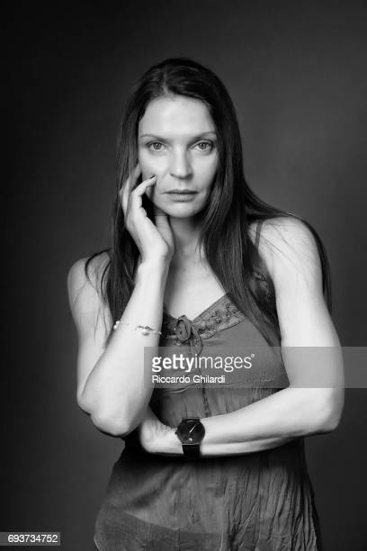 Actress Irini Jambonas is photographed for Self Assignment on May 27 2017 in Cannes France