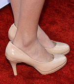 Actress Iris Apatow shoe detail arrives at the 2015 TV LAND Awards at the Saban Theatre on April 11 2015 in Beverly Hills California