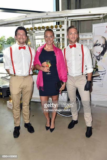 Actress Iris Aschenbrenner attends the Pre Golf Party during the 9th Golf Charity Cup hosted by the Christoph Metzelder Foundation at the Jochen...