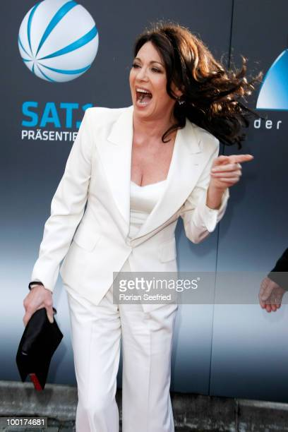 Actress Iris Berben attends the 'Bayerischer Fernsehpreis 2010' at the Prinzregententheater on May 21 2010 in Munich Germany
