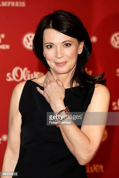 Actress Iris Berben attends the 'Deutscher Filmpreis 2010' nominees reception at hotel concorde on April 9 2010 in Berlin Germany