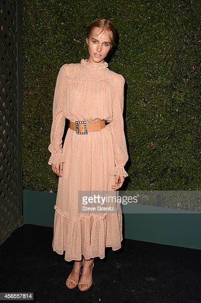 Actress Isabel Lucas attends Claiborne Swanson Frank's Young Hollywood book launch hosted by Michael Kors at Private Residence on October 2 2014 in...