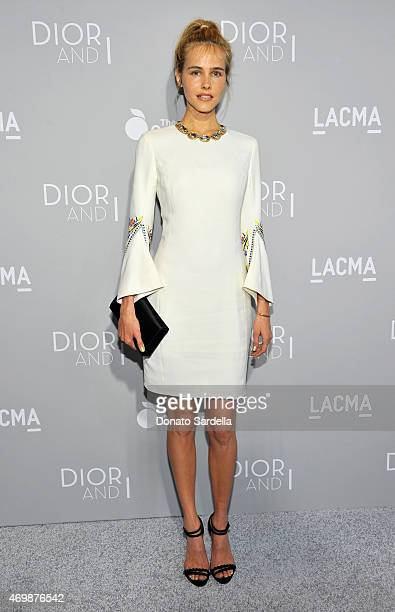 Actress Isabel Lucas attends Dior And I Los Angeles Premiere at LACMA on April 15 2015 in Los Angeles California