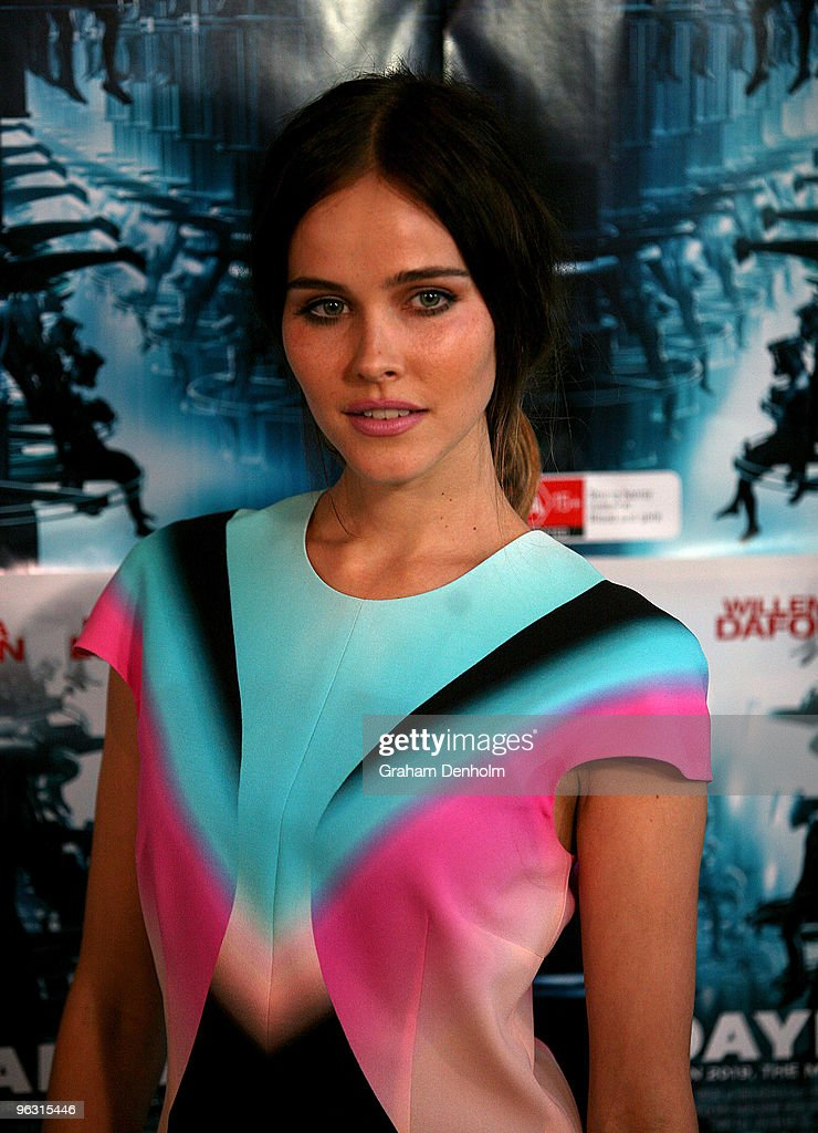Actress Isabel Lucas attends the Australian premiere of 'Daybreakers' at Hoyts at The Entertainment Quarter on February 1 2010 in Sydney Australia