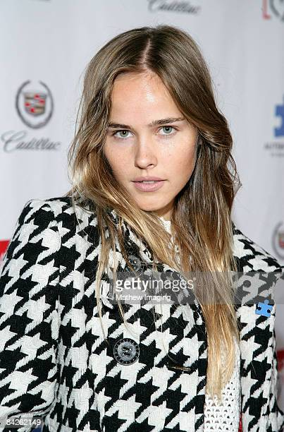 Actress Isabel Lucas attends the Autism Speaks Hosts the 6th Annual Acts of Love Celebration held at the Geffen Playhouse on Monday November 10 2008...