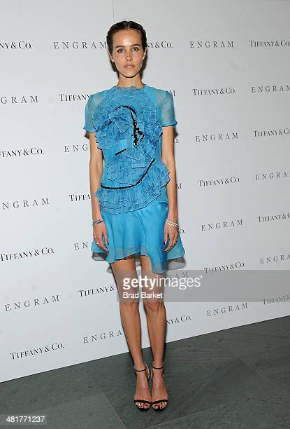 Actress Isabel Lucas attends the 'ENGRAM' screening at Museum of Modern Art on March 31 2014 in New York City