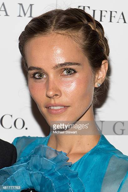 Actress Isabel Lucas attends the 'Engram' screening at the Celeste Bartos Theater at the Museum of Modern Art on March 31 2014 in New York City