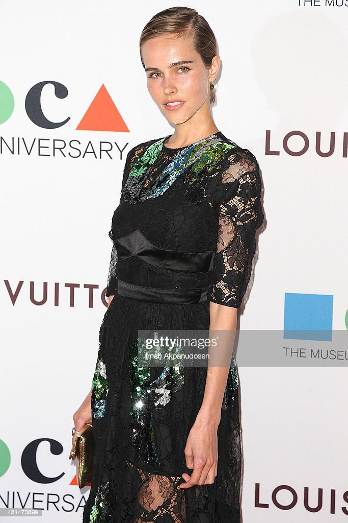 Actress <a gi-track='captionPersonalityLinkClicked' href=/galleries/search?phrase=Isabel+Lucas&family=editorial&specificpeople=242957 ng-click='$event.stopPropagation()'>Isabel Lucas</a> attends The Museum Of Contemporary Art, Los Angeles, Celebrates 35th Anniversary Gala Presented By Louis Vuitton at The Geffen Contemporary at MOCA on March 29, 2014 in Los Angeles, California.